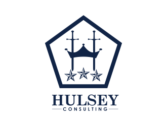 Hulsey Consulting logo design concepts #5