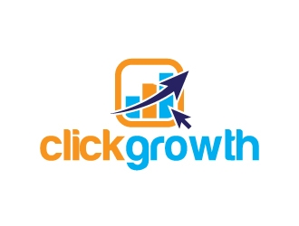 clickgrowth logo design concepts #2