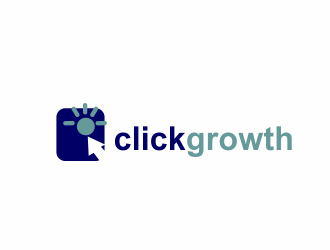 clickgrowth logo design concepts #13