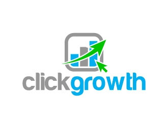 clickgrowth logo design concepts #3
