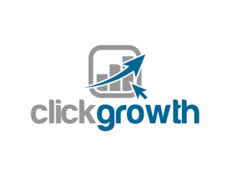 clickgrowth logo design concepts #4