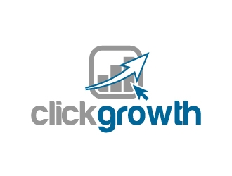 clickgrowth logo design concepts #7