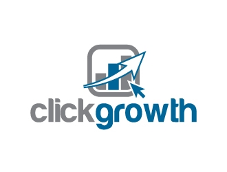 clickgrowth logo design concepts #8