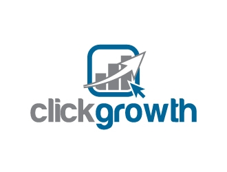 clickgrowth logo design concepts #9