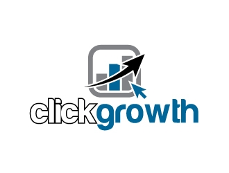 clickgrowth logo design concepts #14