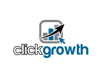 clickgrowth logo design concepts #15
