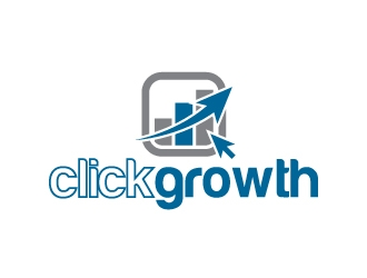 clickgrowth logo design concepts #17