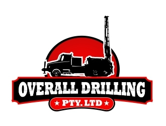 Overall Drilling Pty. Ltd  logo design concepts #3