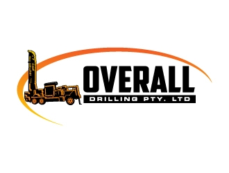 Overall Drilling Pty. Ltd  logo design concepts #6