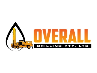 Overall Drilling Pty. Ltd  logo design concepts #7