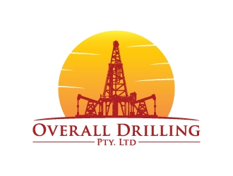 Overall Drilling Pty. Ltd  logo design concepts #9