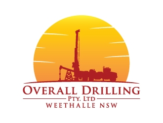 Overall Drilling Pty. Ltd  logo design concepts #17
