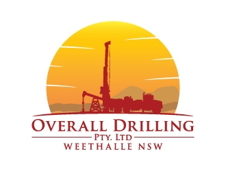 Overall Drilling Pty. Ltd  logo design concepts #18