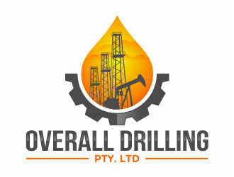 Overall Drilling Pty. Ltd  logo design concepts #24