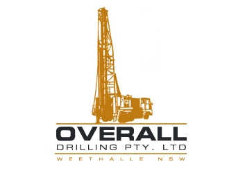 Overall Drilling Pty. Ltd  logo design concepts #29