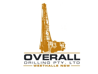 Overall Drilling Pty. Ltd  logo design concepts #30
