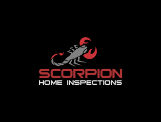 Scorpion Home Inspections logo design concepts #1