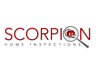 Scorpion Home Inspections logo design concepts #5