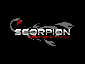 2 Concepts Scorpion Home Inspections Logo Design .