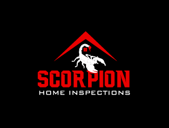 Scorpion Home Inspections logo design - Freelancelogodesign.com