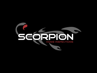 Scorpion Home Inspections logo design concepts #10