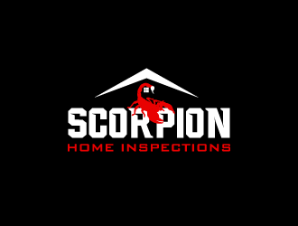 Scorpion Home Inspections logo design concepts #11