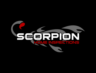 Scorpion Home Inspections logo design concepts #12