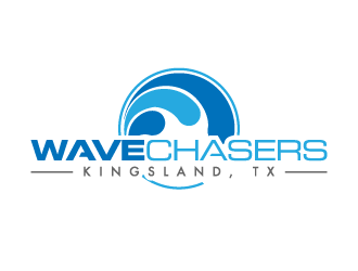 Wave Chasers  logo design concepts #5