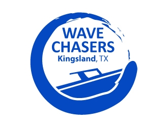 Wave Chasers  logo design concepts #12