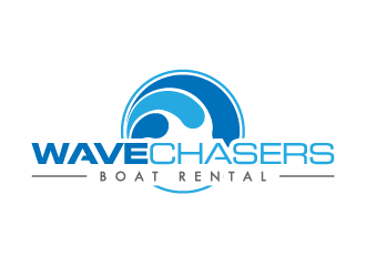 Wave Chasers  logo design concepts #1