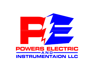 Powers Electric and Instrumentaion LLC logo design