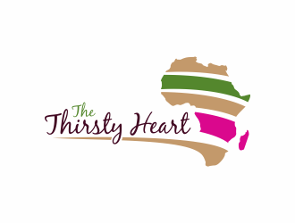 The Thirsty Heart logo design concepts #1