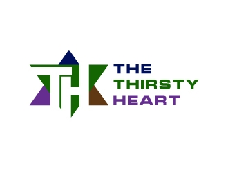 The Thirsty Heart logo design concepts #2