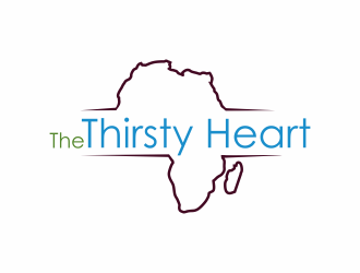The Thirsty Heart logo design concepts #4