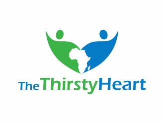 The Thirsty Heart logo design concepts #9