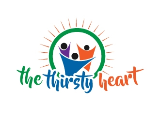 The Thirsty Heart logo design concepts #12