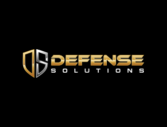 DEFENSE SOLUTIONS Security Consulting & Investigations  logo design concepts #3