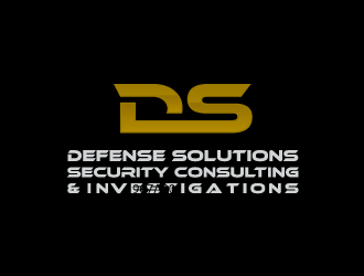 DEFENSE SOLUTIONS Security Consulting & Investigations  logo design concepts #6