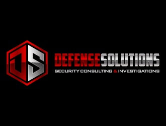 DEFENSE SOLUTIONS Security Consulting & Investigations  logo design concepts #7