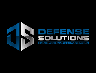 DEFENSE SOLUTIONS Security Consulting & Investigations  logo design concepts #8