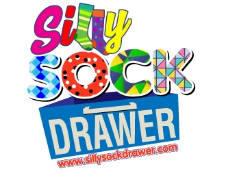 Silly Sock Drawer  logo design concepts #8