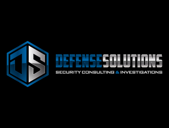 DEFENSE SOLUTIONS Security Consulting & Investigations  logo design concepts #1