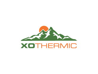 XO Thermic logo design concepts #20