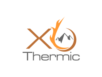 XO Thermic logo design concepts #23
