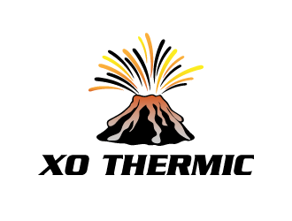 XO Thermic logo design concepts #25