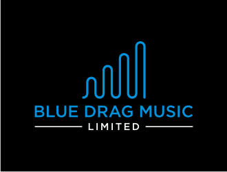 Blue Drag Music Limited logo design concepts #2
