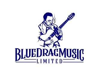 Blue Drag Music Limited logo design concepts #6