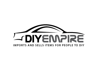 DIY EMPIRE logo design concepts #7