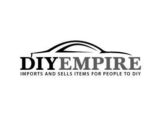 DIY EMPIRE logo design concepts #8