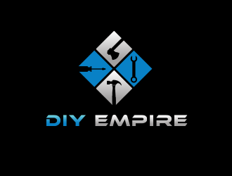 DIY EMPIRE logo design concepts #9